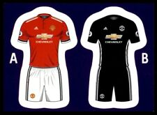 Merlin's Premier League 2018 - Kit Manchester United No. 191