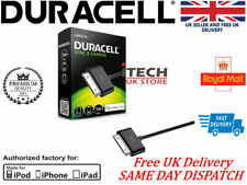 Duracell 30 Pin MFI Sync Charger Cable for iPhone 3g/3gs/4/4s & iPad 2/3