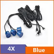 Car Backup Parking Sensor Reverse System Rear Sensors Replacement 22mm Blue 4Pcs