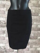 Womens/Ladies Knee Length Lined Skirt H&M Size UK 10