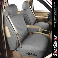 Polycotton Fabric Covercraft SS2360PCGY Custom-Fit Front Bucket SeatSaver Seat Covers Grey