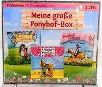Meine große Ponyhof Box + Hörbuch auf 3 CD + Für Kinder ab 6 Jahren + Ponys +