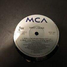 """MARY J BLIGE REAL LOVE 1993 R&B SOUL 12"""" VINYL"""