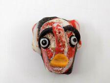 Ancient Phoenician Amulet Face Bead