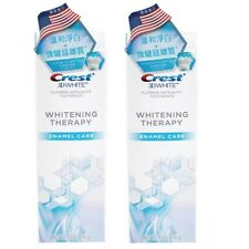Crest 3D White Whitening Therapy Enamel Care Toothpaste 4.1oz / 116g x 2