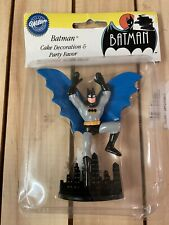 VINTAGE WILTON 1992 BATMAN THE ANIMATED SERIES CANDLE CAKE DECORATION TOPPER NEW
