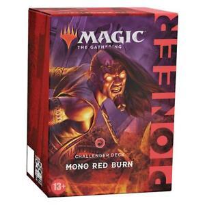 Magic: The Gathering (MTG) - Pioneer Challenger Decks 2021 Mono Red Burn