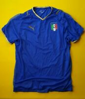 4.9/5 Italy Italia soccer jersey small 2008 2009 home shirt Puma football ig93