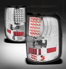 04-08 FORD F-150 PICKUP TRUCK STYLESIDE LED TAIL BRAKE LIGHT LAMP CHROME XLT XTR