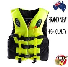 BRAND NEW HIGH QUALITY ADULT LIFE JACKET FREE POSTAGE THROUGH AUSTRALIA