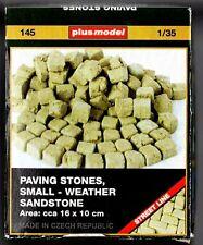PLUSMODEL PLUS MODEL 145 - PAVING STONES SMALL WEATHER SANDSTONE - 1/35 CERAMIC