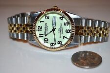 SWANSON WATCH MEN'S GLOW IN THE DARK WATCH NEW
