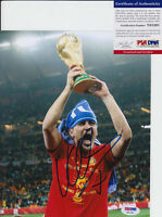 DAVID VILLA NYCFC SPAIN WORLD CUP SIGNED AUTOGRAPH 8X10 PHOTO PSA/DNA COA #1