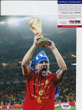 DAVID VILLA NYCFC SPAIN WORLD CUP SIGNED AUTOGRAPH 8X10 PHOTO PSA/DNA COA #1