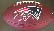 AUTOGRAPHED TOM BRADY PATRIOTS TEAM FOOTBALL NFL WITH COA!