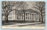 Minneapolis, MN - RARE c1908 UNIVERSITY OF MINNESOTA LIBRARY VIEW - POSTCARD