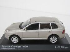 Porsche Cayenne Turbo 2002 1/43 Minichamps 400061081 Pma Sandgold SUV