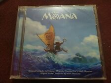 Disney Moana Motion Picture Soundtrack New CD 2016