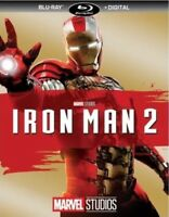 MARVEL STUDIOS IRON MAN 2(BLU-RAY+DIGITAL) NEW UNOPENED