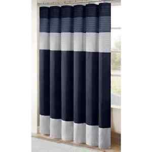 Madison Park Amherst Shower Curtain Blue & Gray