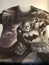 DC Comics BATMAN Full Print graphic T- Shirt size men's Medium