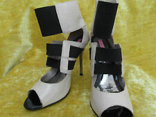 River Island Strappy, Ankle Straps Textured Heels for Women