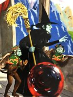 Wizard of Oz-THE WICKED WITCH OF THE WEST-Knowles Porcelain Plate-USA-IOB-NEW!