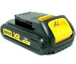 DeWalt 18V 1.5Ah XR Li-ion Slide Battery - DCB181-XE - Bids Start From $1.00
