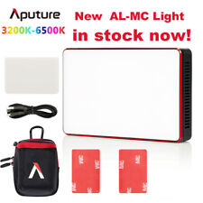Aputure AL-MC Portable LED Light 3200K-6500K RGB light HSI/CCT/FX Video Lighting