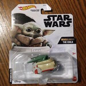 The Child Baby Yoda - Star Wars The Mandalorian Character Cars - Hot Wheels 2021
