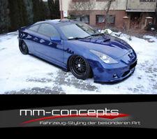Cup Spoilerlippe CARBON für Toyota Celica T23 TS Frontspoiler Spoilerschwert ABS