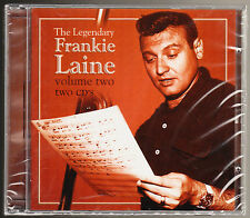 THE LEGENDARY FRANKIE LAINE - VOL 2 - 36 TRACKS - NEW & SEALED 2 CD SET