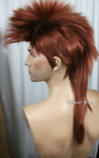 Quality MOHAWK Wig ..Unisex .. FOX RED!   HOT! *