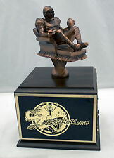 Fantasy Football Trophy 12 Year Armchair Qb - Free Engraving! Ships In 1 Day!
