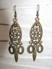 Beryl~like Gemstone Protect A20 Dangle Earrings Scorpio