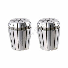 2pcs ER32 6mm Spring Steel Collet Chuck Drill Chisel Tool Holder Clamping