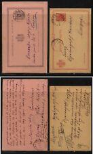 Serbia  2  postal  cards   used                 MS0903