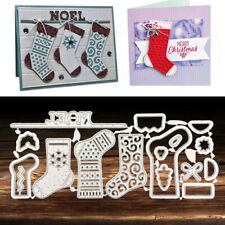 Socks Stockings Metal Cutting Dies Stencil Scrapbooking Craft Christmas Card DIY