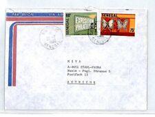 CM228 1986 *SENEGAL* Missionary Air Mail MIVA Austria Cover {samwells-covers}