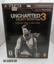 UNCHARTED 3 Drake's Deception DELUXE COLLECTOR'S ED (PlayStation 3 2011) PS3