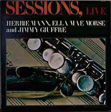 SESSIONS, LIVE-NM1976LP HERBIE MANN/JIMMY GIUFFRE/ELLA MAE MORSE/NELLIE LUTCHER