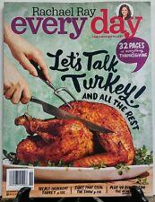 Rachael Ray Every Day November 2016 Let's Talk Turkey Recipes FREE SHIPPING sb