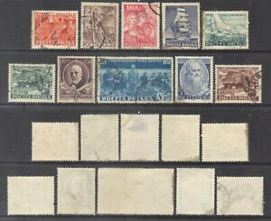 Poland 1952 Semi-Postal stamps.