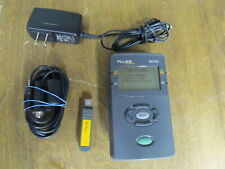 FLUKE NETTOOL INLINE NETWORK TESTING ENABLED TOOL WITH SERIAL CABLE DONGLE