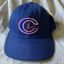 Columbus Clippers MLB 1989 Vintage Delong Fitted Hat Cap Size 7 RARE NEW