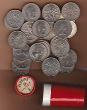 More details for tube of 25 florins dated 1967 in near mint or better condition.
