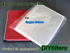 Combo set Engine & Cabin Air Filter For Rogue Select 2014-2015 C25864 AF4675