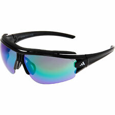 c2cc926b26 adidas Eyewear Evil Eye Halfrim Pro L Grey Green Mirror H Cat3 Black Shiny