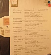 RADIO SHOW: 11/18/88 GEORGIA MUSIC: RAY CHARLES, TAMS, RAY STEVENS, JERRY REED,