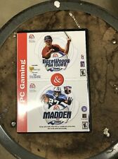 Vintage Madden 2001 And Tiger Woods PGA Tour 2001 for PC